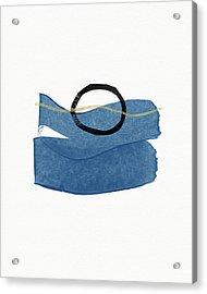 Acrylic Print featuring the mixed media Ocean Zen 1- Art By Linda Woods by Linda Woods