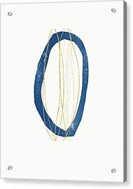 Acrylic Print featuring the mixed media Ocean Zen 4- Art By Linda Woods by Linda Woods