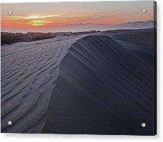 Oceano Dunes Sunset Acrylic Print