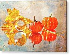 Acrylic Print featuring the photograph October Reflections by Randi Grace Nilsberg