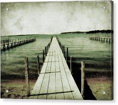 Okoboji Docks Acrylic Print