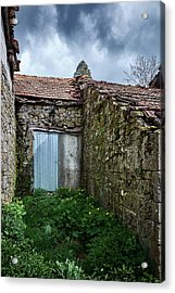 Old Abandoned House In Bainte Acrylic Print