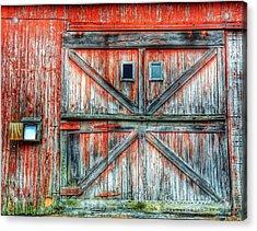 Old Barn Door Acrylic Print by Jenny Lauretano / Eyeem