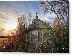 Old Calder Church Acrylic Print