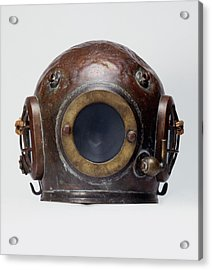 Old-fashioned, Deep Sea Divers Helmet Acrylic Print
