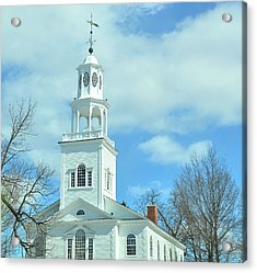Old First Church Acrylic Print by JAMART Photography