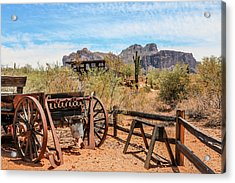 Acrylic Print featuring the photograph Old Mining Days 1 by Dawn Richards