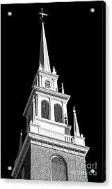 Old North Church Star Boston Acrylic Print