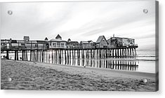 Old Orchard Beach Pier Classic Sunrise Acrylic Print