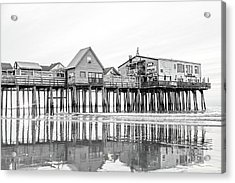 Old Orchard Beach Pier Good Morning Classic Acrylic Print