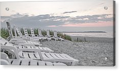Old Orchard Beach Tranquil Morning Acrylic Print