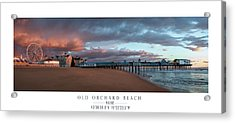 Old Orchard Acrylic Print by Chad Tracy