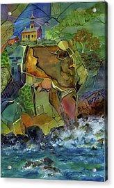 Old Point Loma Lighthouse Acrylic Print