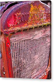 Old Red Acrylic Print