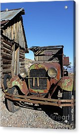 Old Rusty Truck Gold King Ghost Town Acrylic Print