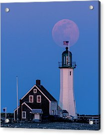 Old Scituate Light Acrylic Print