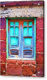 Old Shutters Acrylic Print