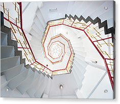 Old Spiral Staircase Acrylic Print