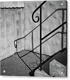 Acrylic Print featuring the photograph Old Steps by Patrick M Lynch