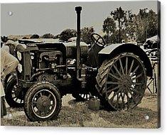 Ye Old Tractor Acrylic Print
