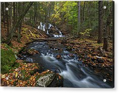 Acrylic Print featuring the photograph Old Wilton Falls by Juergen Roth