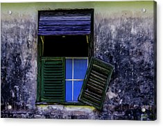 Old Window 2 Acrylic Print