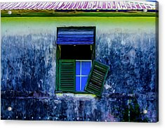 Old Window 3 Acrylic Print