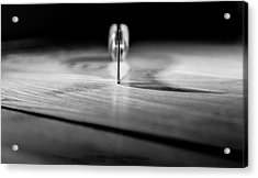 On A Knife Edge Acrylic Print