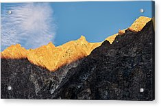 Acrylic Print featuring the photograph On The Ridge by Whitney Goodey