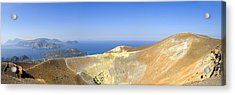 On The Top Of Volcano Acrylic Print by Maremagnum