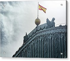 On Top Of The Puerta De Atocha Railway Station Acrylic Print
