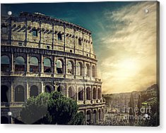 One Of The Most Popular Travel Place In Acrylic Print