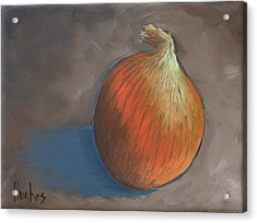 Onion Acrylic Print