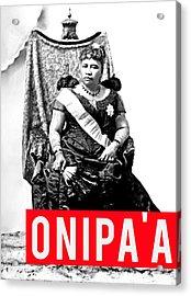 Onipaa Acrylic Print