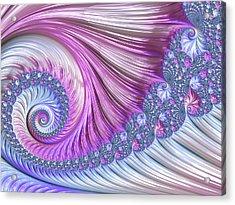 Opal Nautilus Acrylic Print