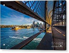 Opera House On Walking Way On The Acrylic Print