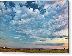 Oregon High Desert Cloudscape Acrylic Print by Leland D Howard