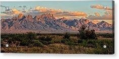 Organ Mountains, Las Cruces, New Mexico Acrylic Print
