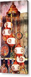 Acrylic Print featuring the photograph Oriental Lamp by Dorothy Berry-Lound