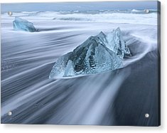 Ornate Ice Acrylic Print