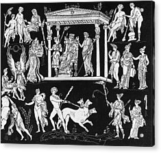 Orpheus And Eurydice Acrylic Print by Hulton Archive
