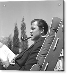 Orson Welles Acrylic Print by Earl Theisen Collection