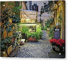 Osteria Roma - Jo Ann Tomaselli Acrylic Print