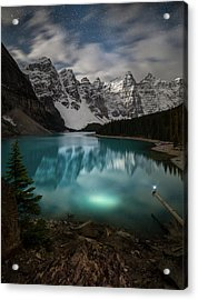 Otherworldly / Moraine Lake, Alberta, Canada Acrylic Print