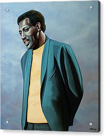 Otis Redding Painting Acrylic Print