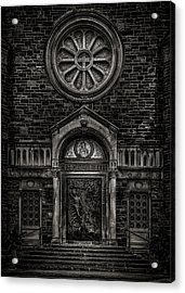Acrylic Print featuring the photograph Our Lady Of Sorrows by Brian Carson