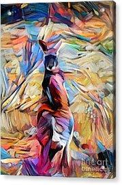 Outback Roo Acrylic Print