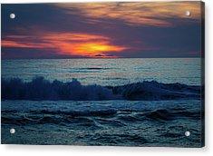 Outer Banks Sunrise Acrylic Print