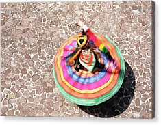 Overhead View Of A Mestiza Cuzquena Acrylic Print by Gavin Hellier / Robertharding