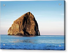 Acrylic Print featuring the photograph Pacific City Cape Kiwanda 101618 by Rospotte Photography